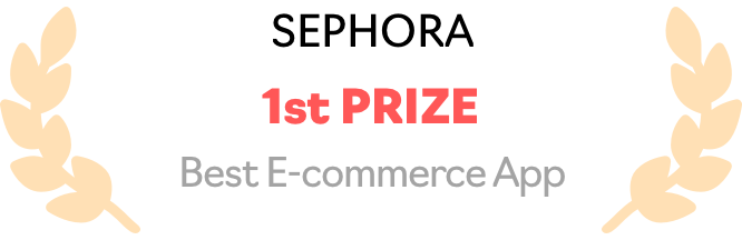 Sephora - Best E-commerce App