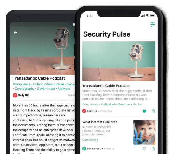 Kaspersky Security Pulse